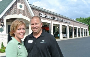 Christian Brothers Automotive Franchise owners Matt and Lee Rucks